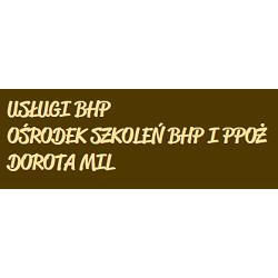 Usługi BHP Ośrodek Szkoleń Bhp i Ppoż Dorota MIL
