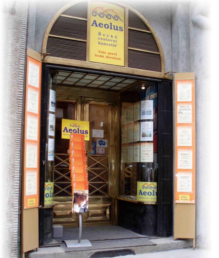 AEOLUS, řecká cestovní kancelář s.r.o.