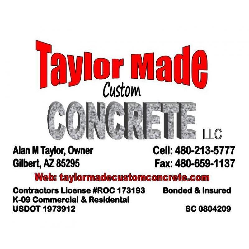 Taylor Made Custom Concrete LLC