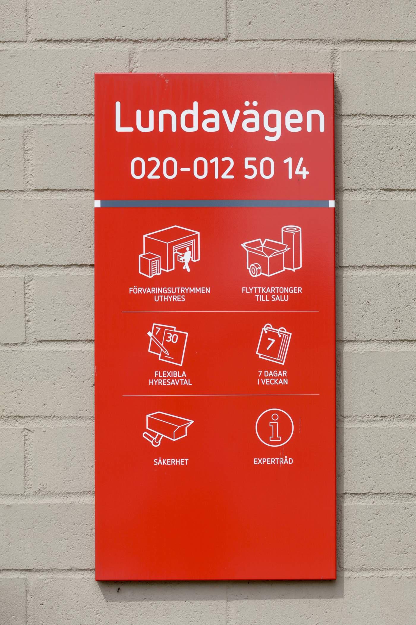 Shurgard Self Storage Malmö Lundavägen