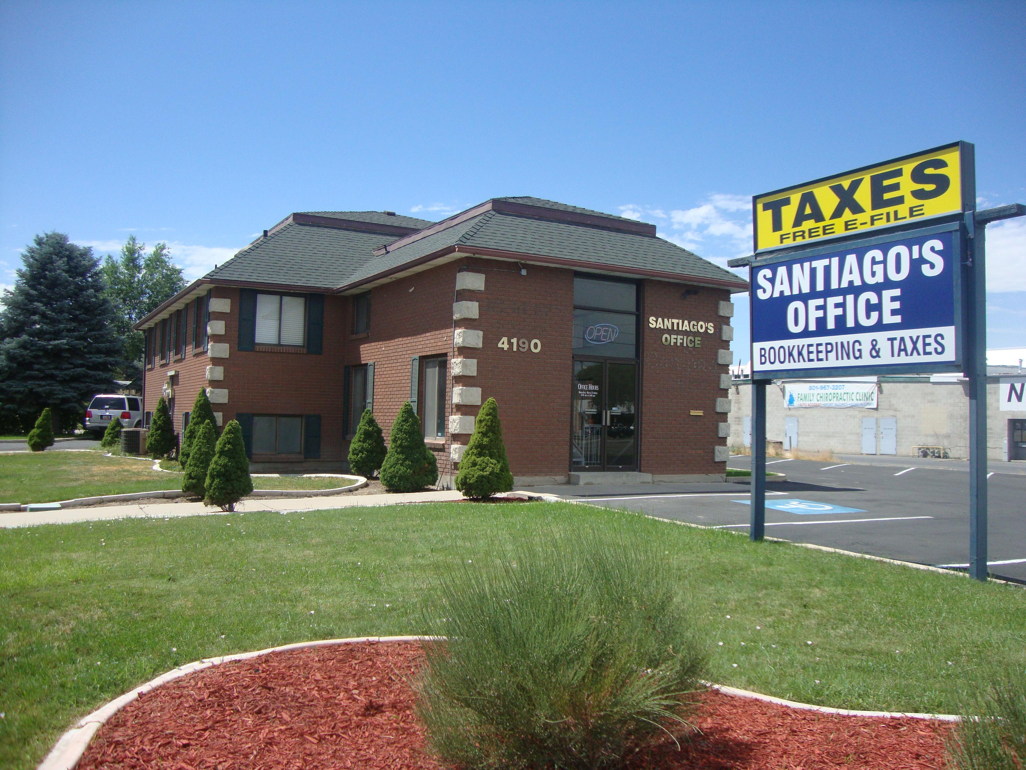 Santiago's Office Bookkeeping and Taxes - ad image