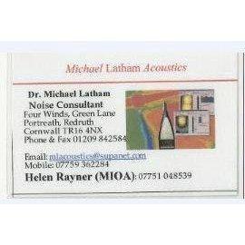 Michael Latham Acoustics Logo