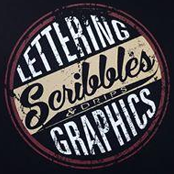 Scribbles & Drips Lettering & Graphics