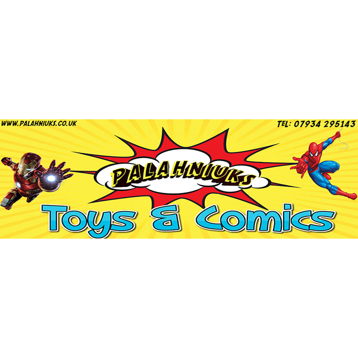 Palahniuks Toys & Comics - Swindon, Wiltshire SN4 9QT - 01793 853405 | ShowMeLocal.com