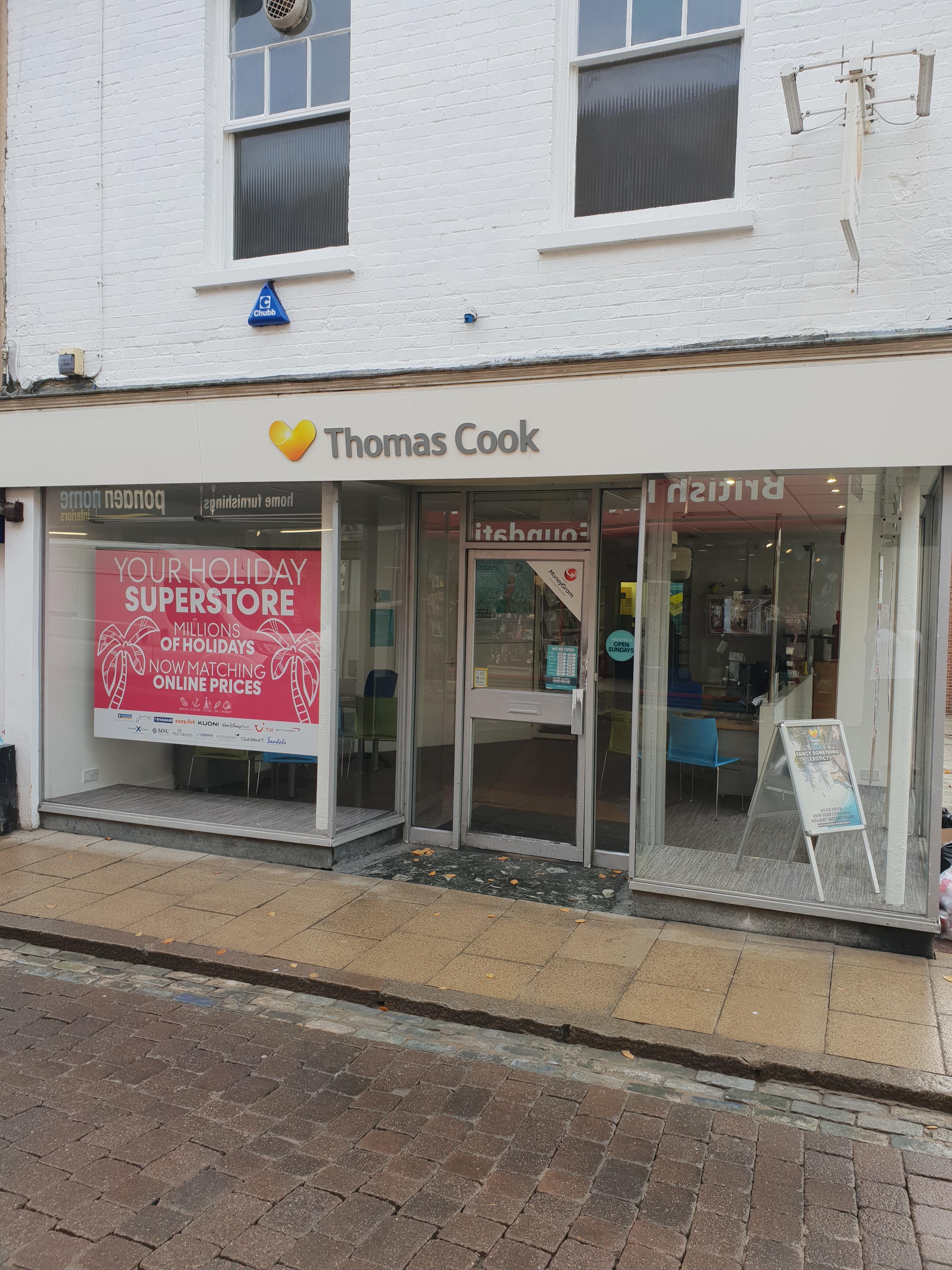 Thomas Cook Travel Store