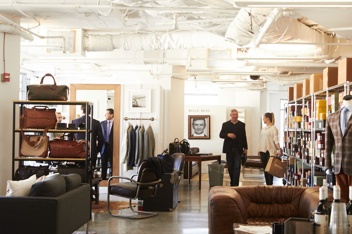 Meet your stylist. Visiting one of our Clubhouses is the pinnacle of the Trunk Club experience. You'll enjoy complimentary beverage service in one of our spacious fitting lounges while your stylist pulls outfits for .