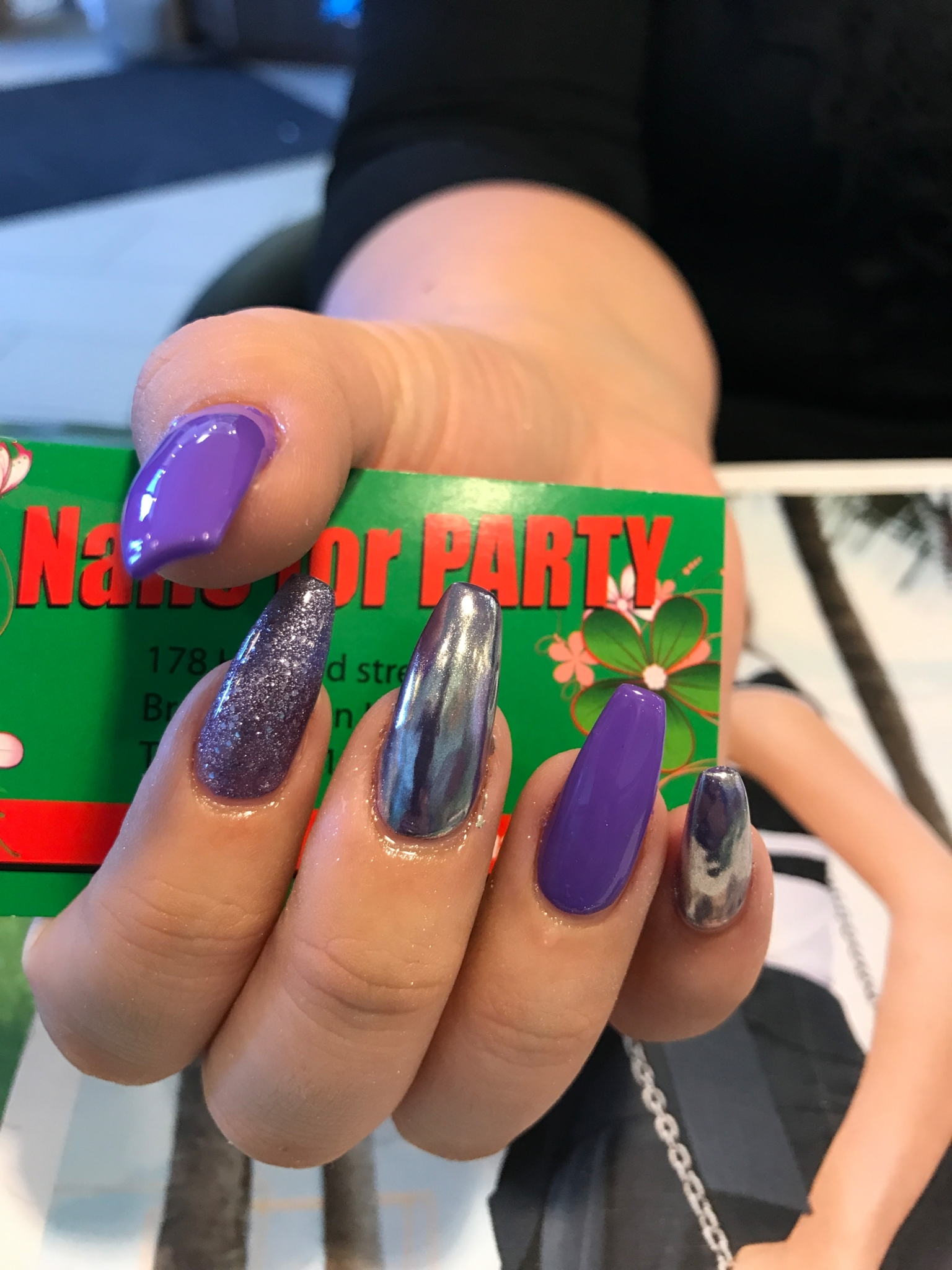 Images Nails For Party Luxury Spa