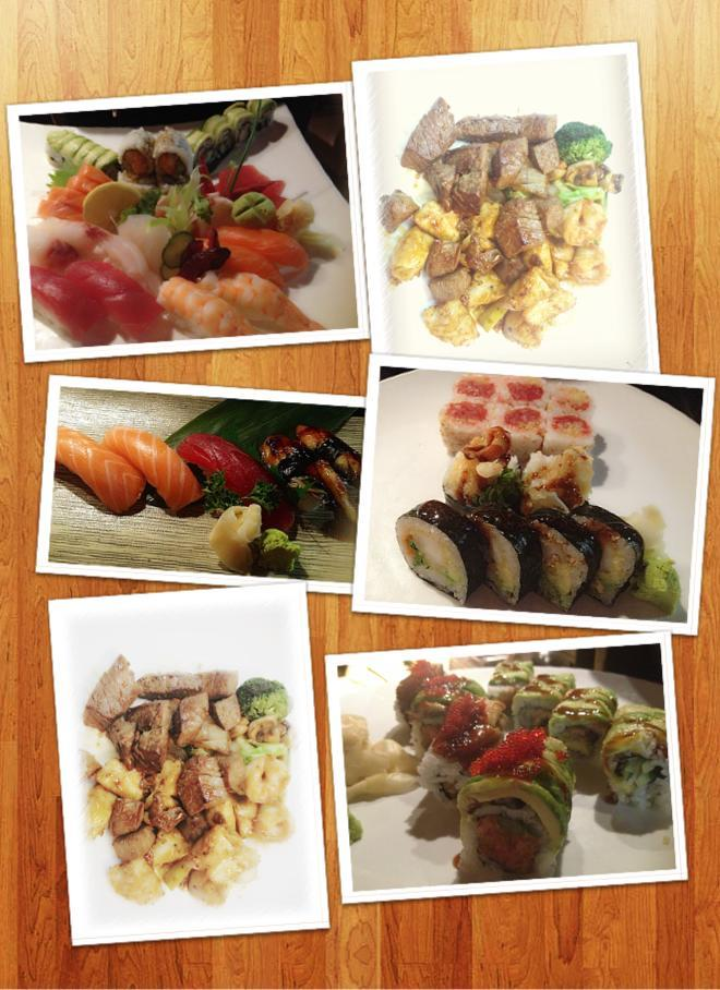 Grilled fare from table-side, hibachi-style chefs plus sushi & traditional entrees in a polished atmosphere.