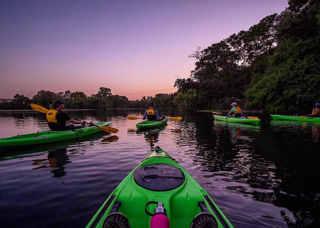 Exploring Spring Lake: Sunset Kayak Tour