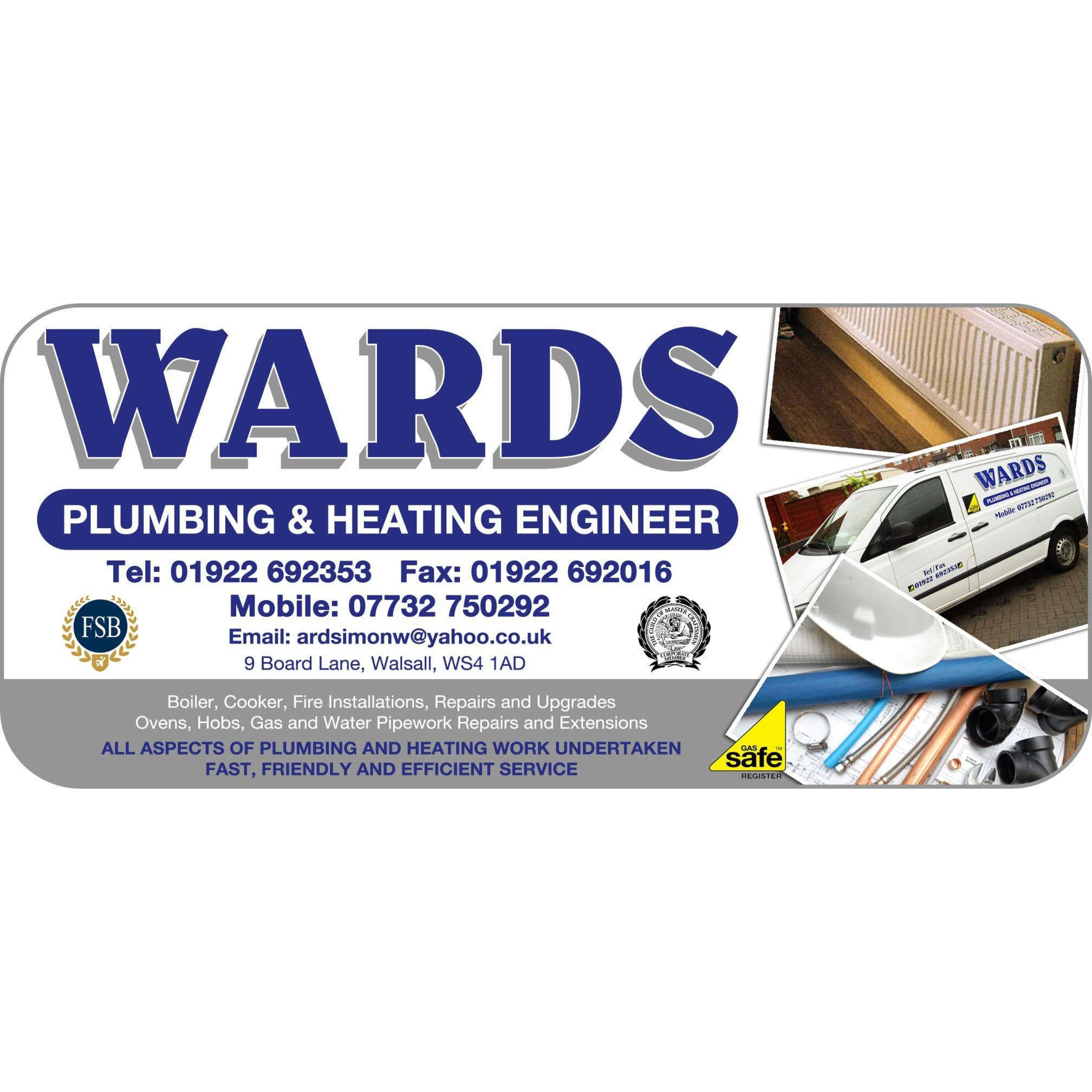 Wards Plumbing & Heating - Walsall, West Midlands WS4 1AD - 07732 750292 | ShowMeLocal.com