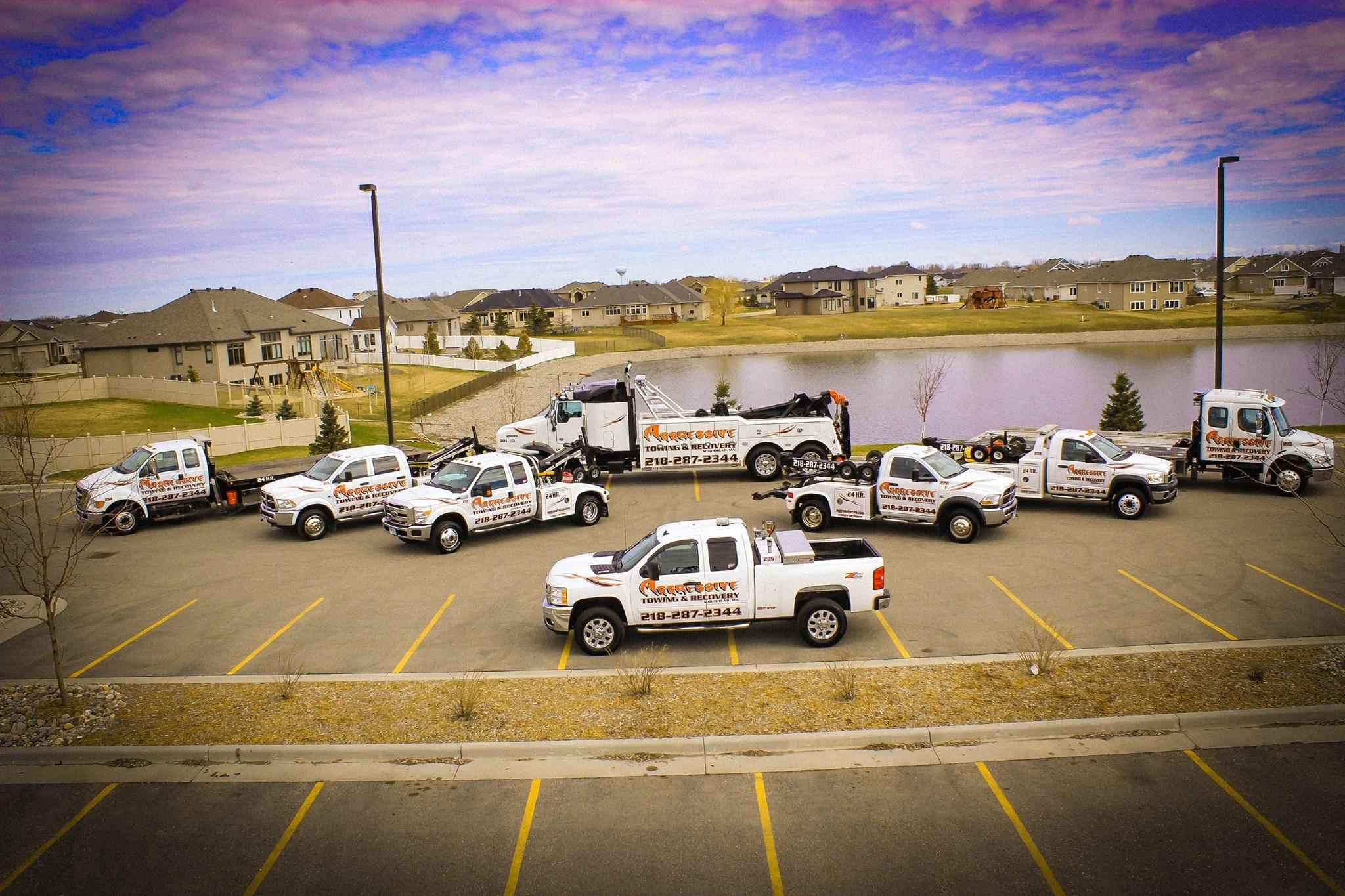 Tire Repair Near Me Open Sunday >> Aggressive Towing & Recovery, Moorhead Minnesota (MN) - LocalDatabase.com