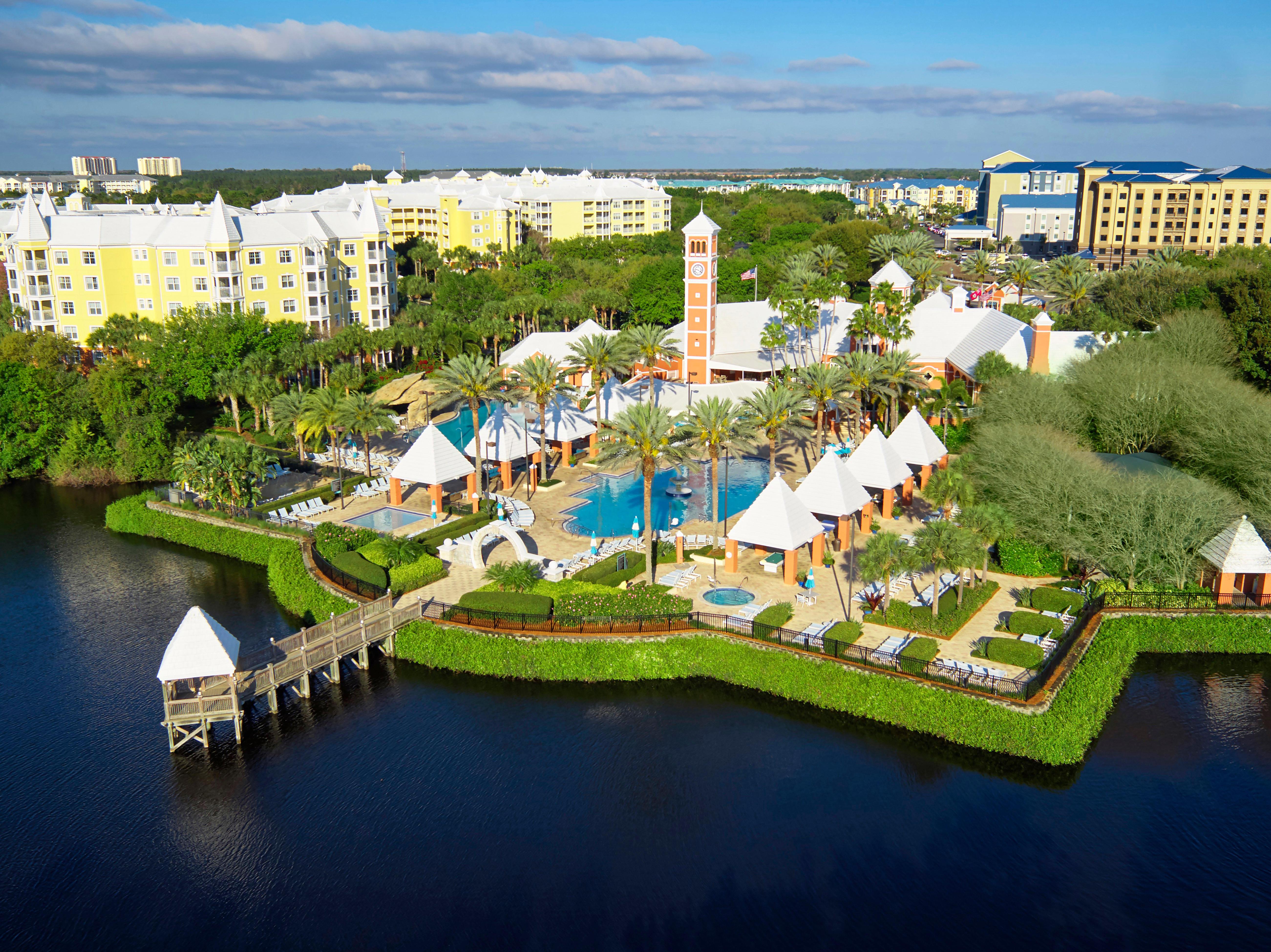Hilton Grand Vacations At Seaworld Orlando Florida Fl