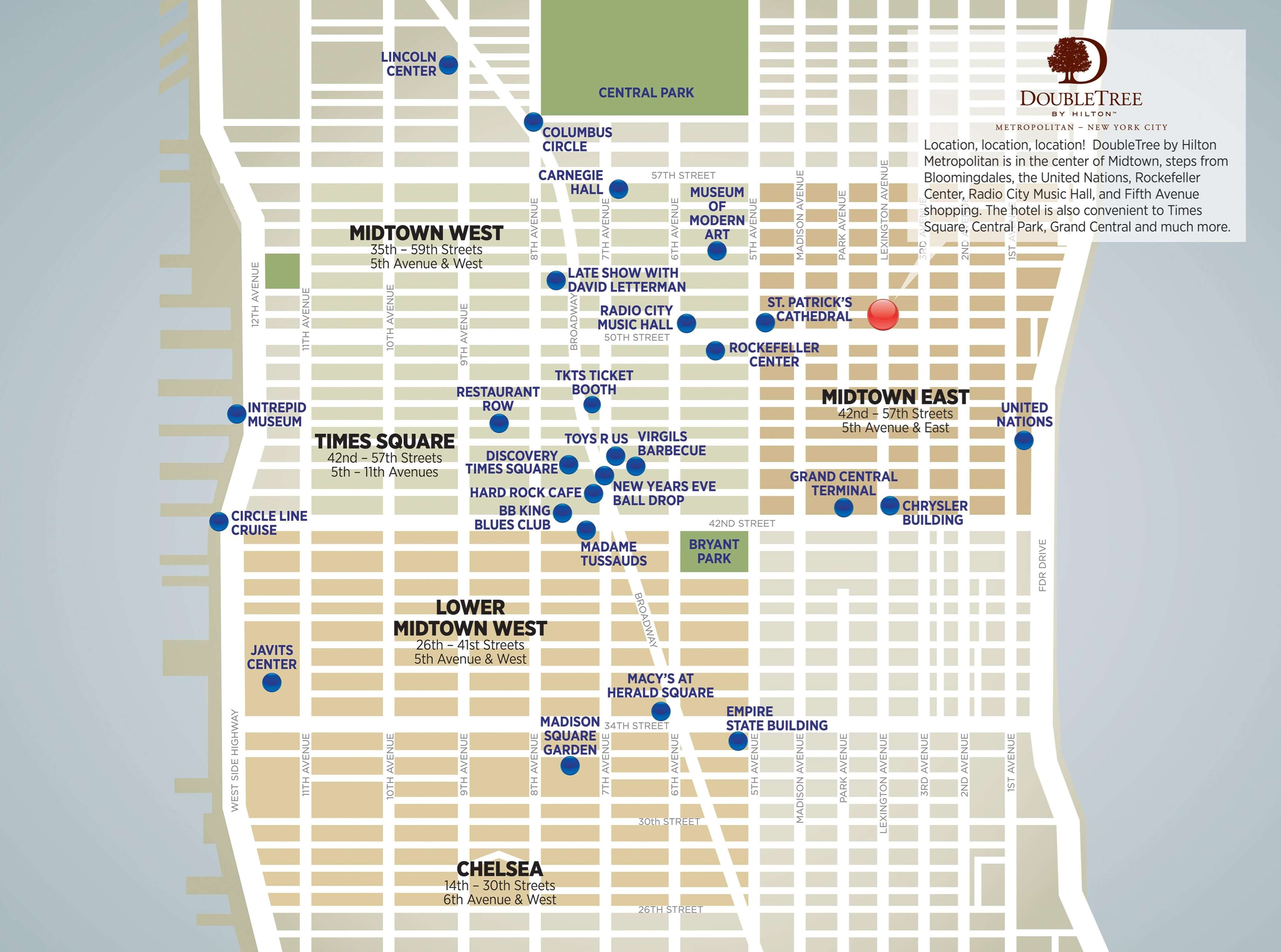 Doubletree by hilton hotel metropolitan new york city for Modern hotels near me