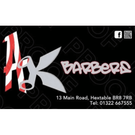 AK Barbers - Swanley, Kent BR8 7RB - 01322 667555 | ShowMeLocal.com
