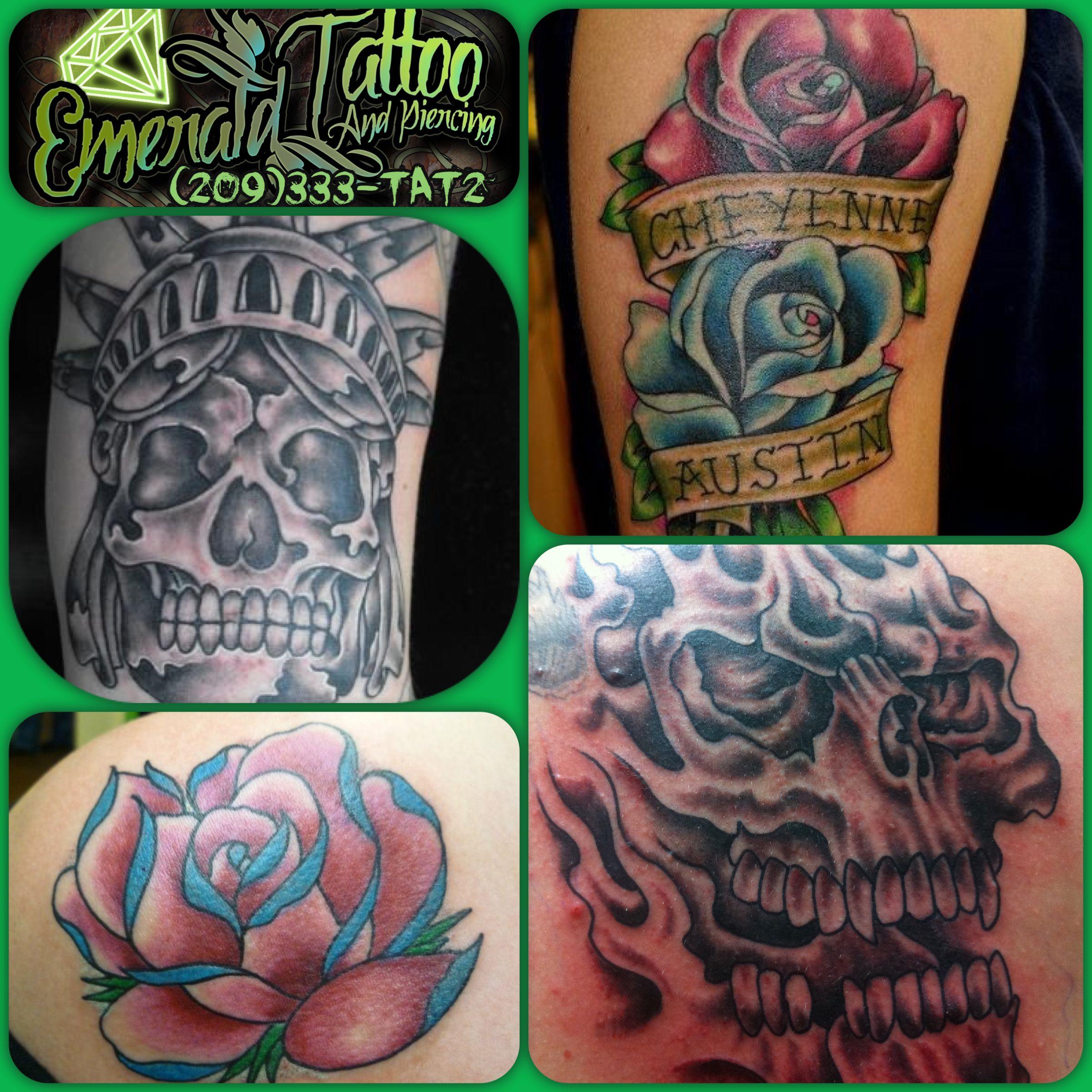 Emerald tattoo piercing lodi coupons near me in lodi for Tattoo piercing near me