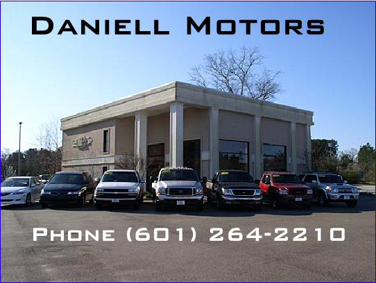 daniell motors in hattiesburg ms 39402