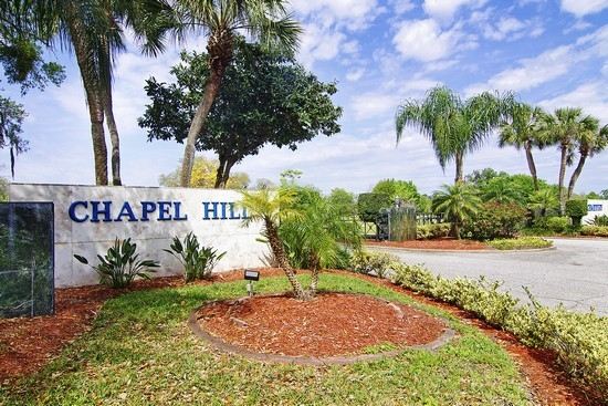 Baldwin Fairchild Chapel Hill Cemetery In Orlando