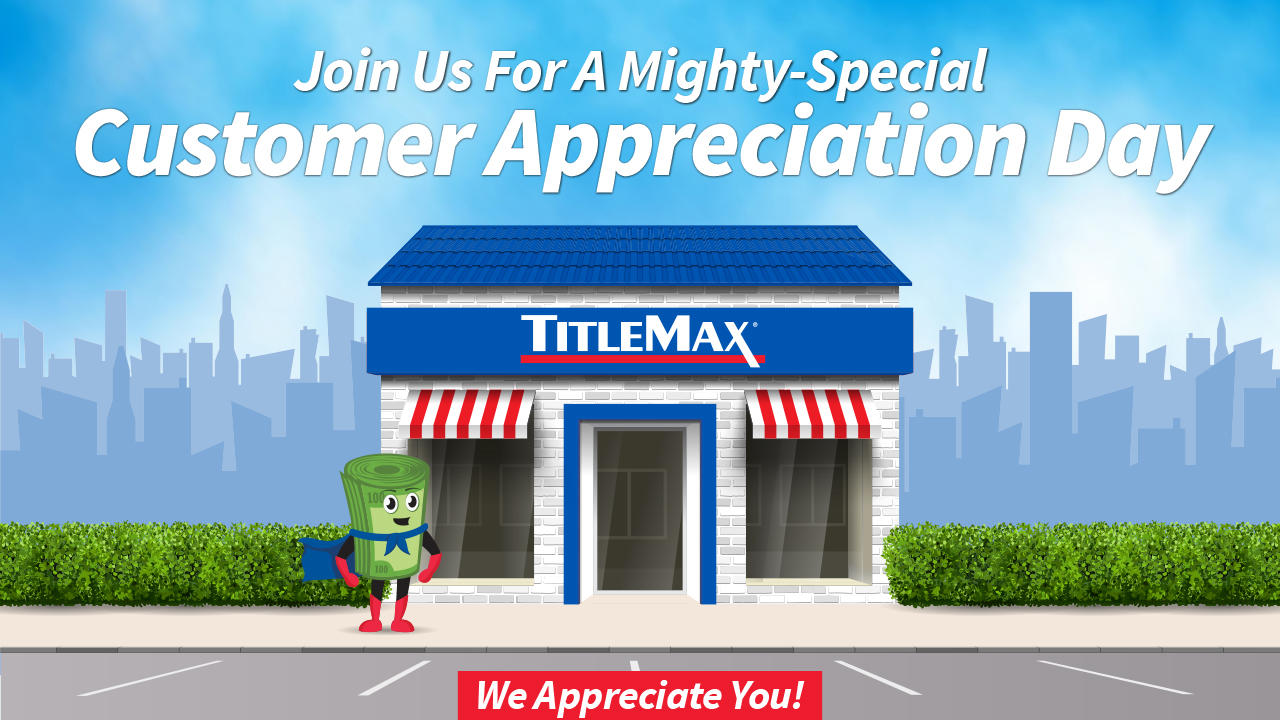 Appreciation Day with Max at TitleMax Fairview Heights, IL