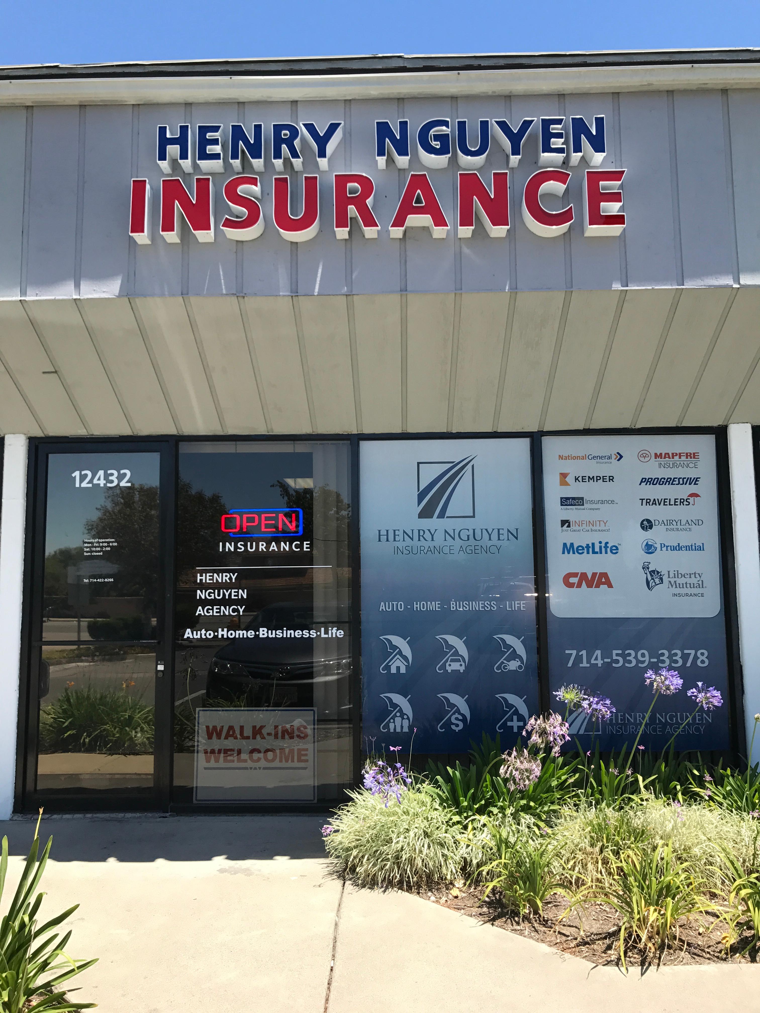 Henry Nguyen Insurance Agency In Garden Grove Ca 92840