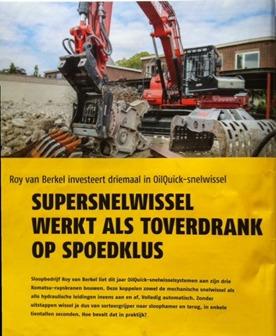 Berkel Sloopwerken BV Van