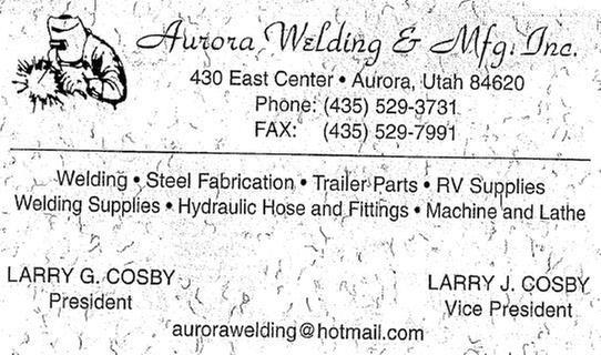 Aurora Welding & MFG, Inc.
