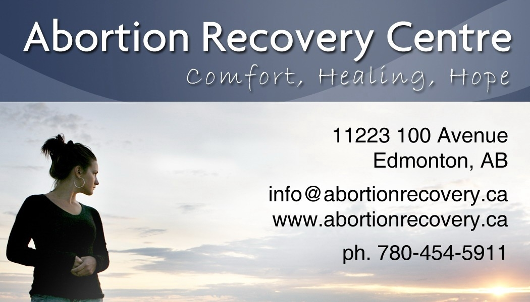 A b o r t i o n Recovery Centre in Edmonton