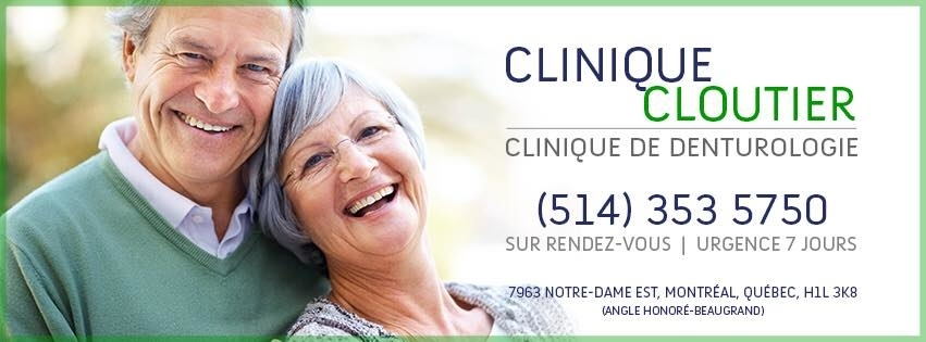 Clinique Cloutier - Denturologiste Montreal à Montréal