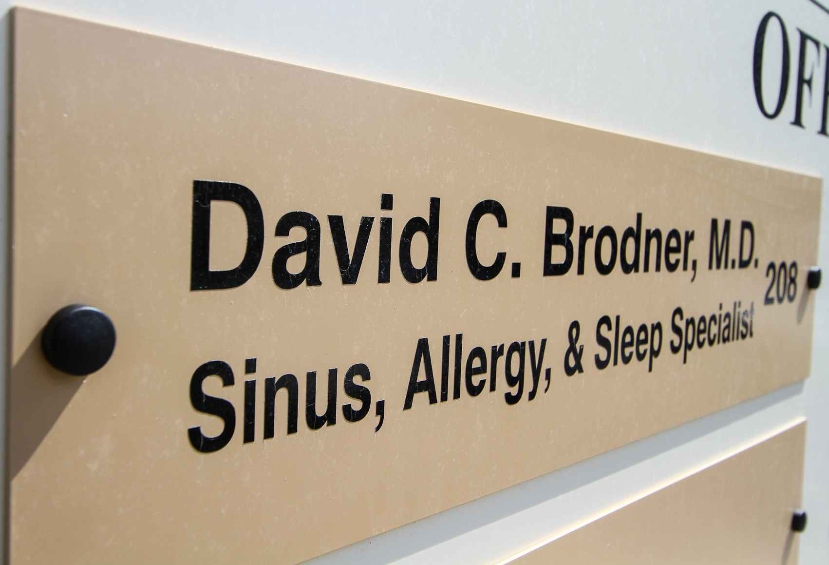 Brodner, David Dr-Sinus Allergy Sleep image 4