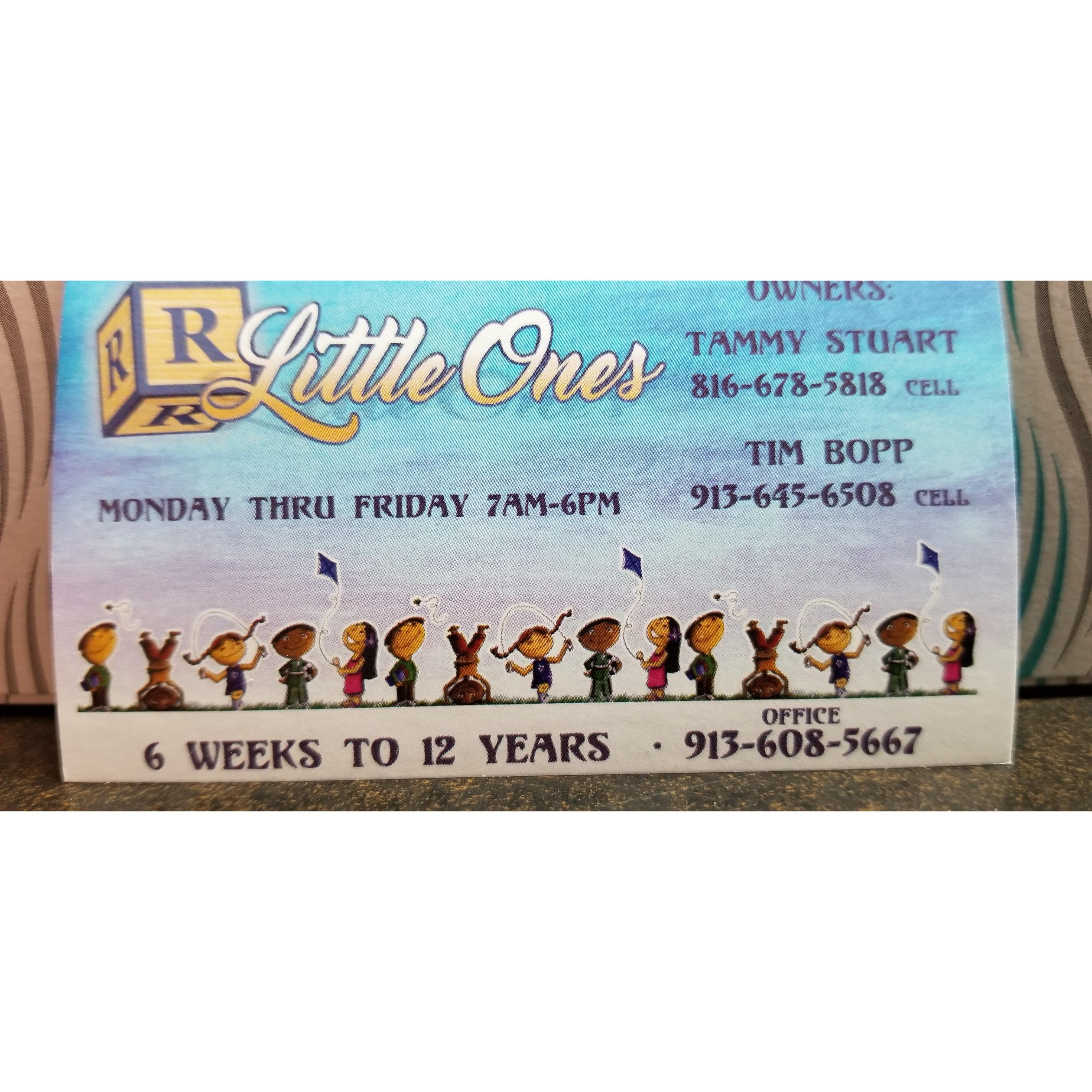 R Little Ones