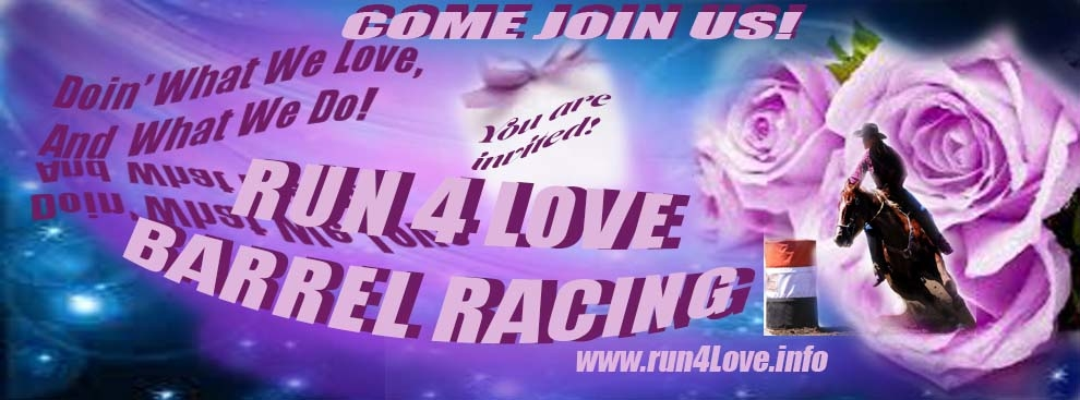 Run4love Barrel Racing Association