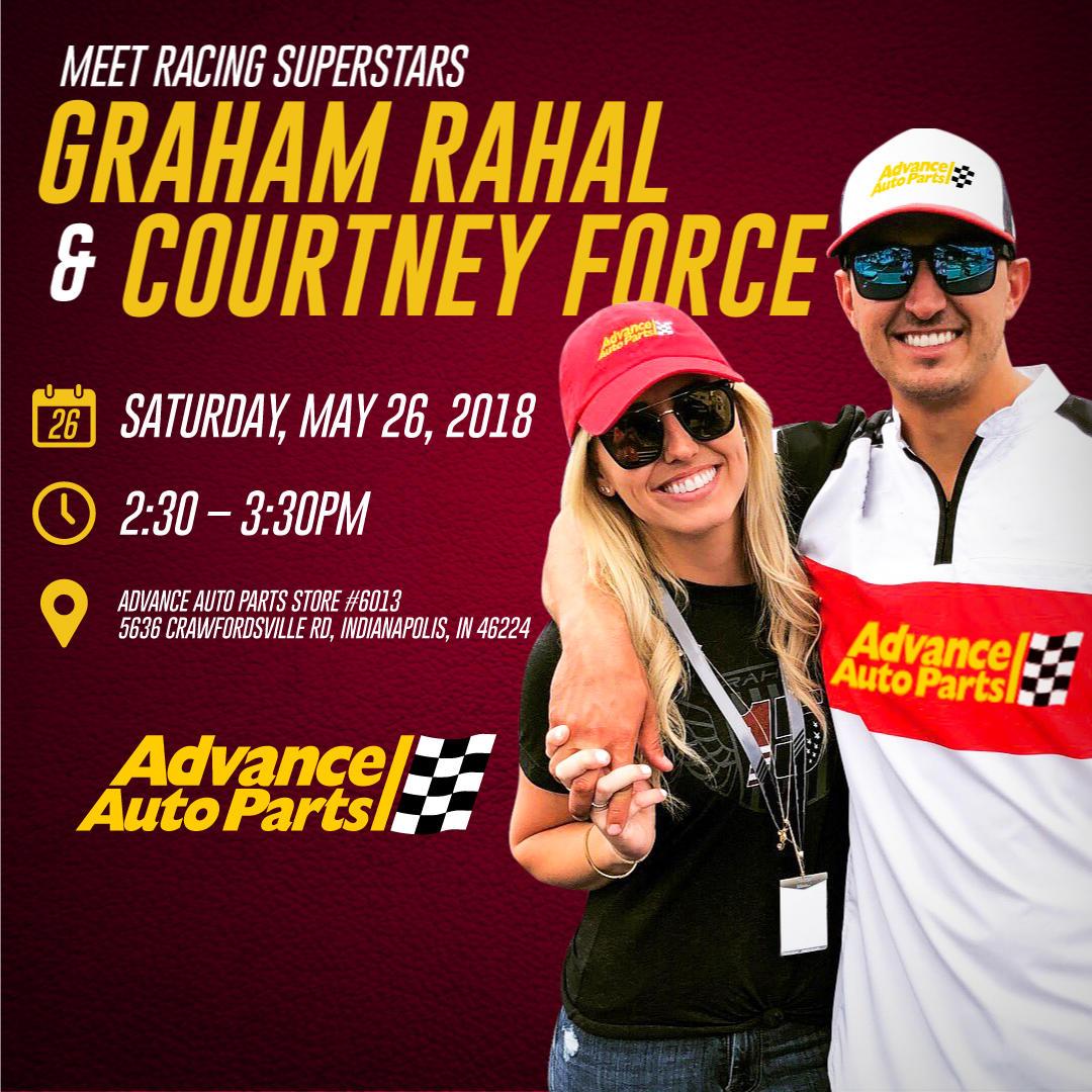 Meet Racing Superstars Graham Rahal & Courtney Force