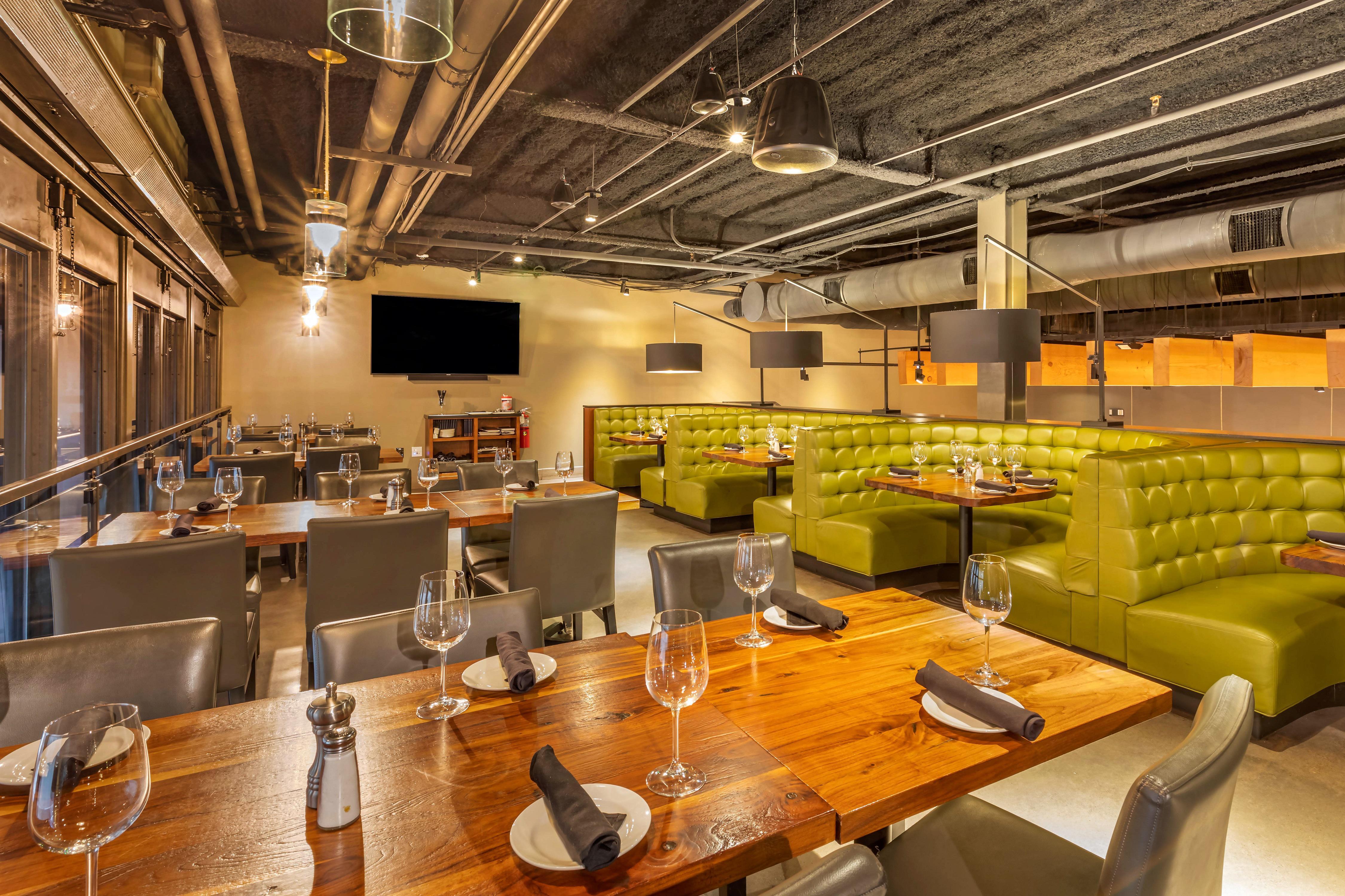 Del Frisco's Grille Plano Mezzanine group dining room