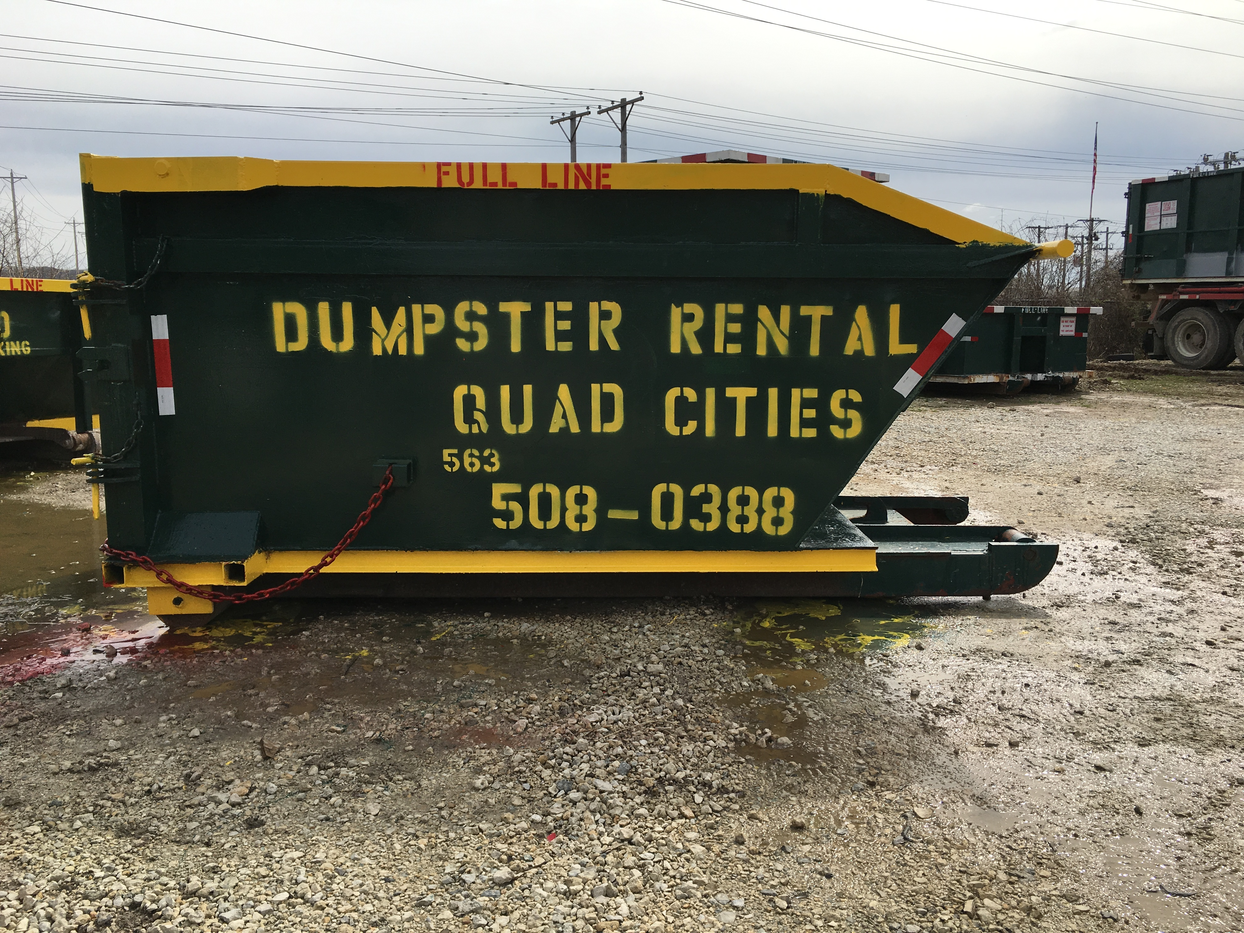 Dumpster Rental Quad Cities In Bettendorf Ia 52722