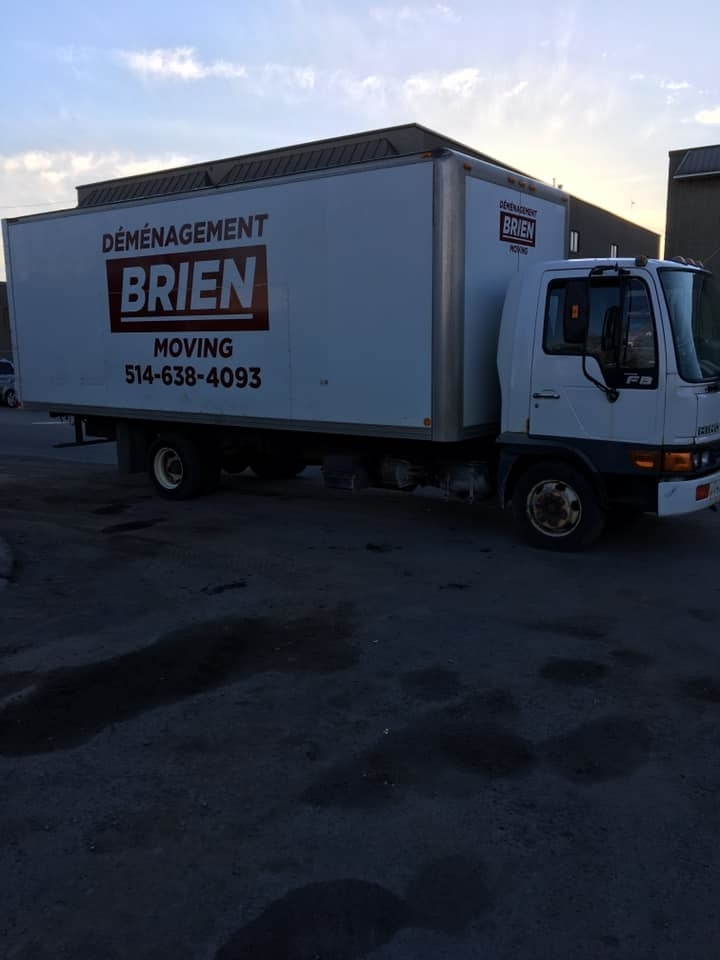 Brien Moving in Montréal