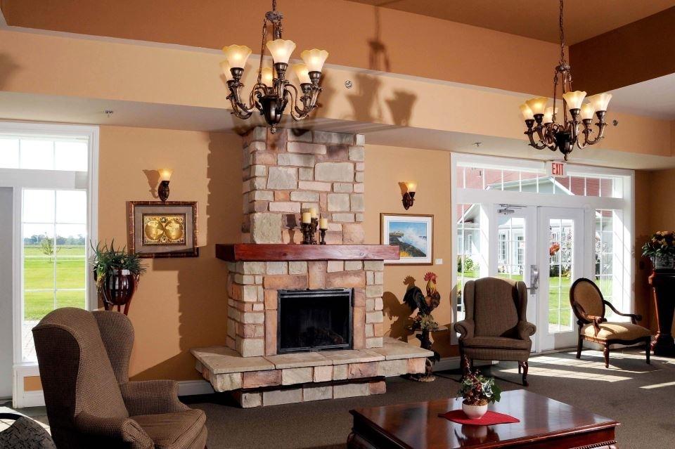 Le Genesis Retirement Home in Embrun: Le Genesis - Foyer