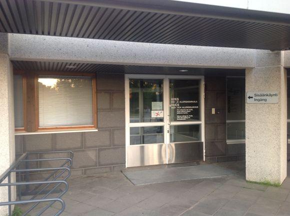 Iho- ja allergiasairaala in Helsinki, Meilahdentie 2 - Sairaaloita in Helsinki - Opendi Helsinki