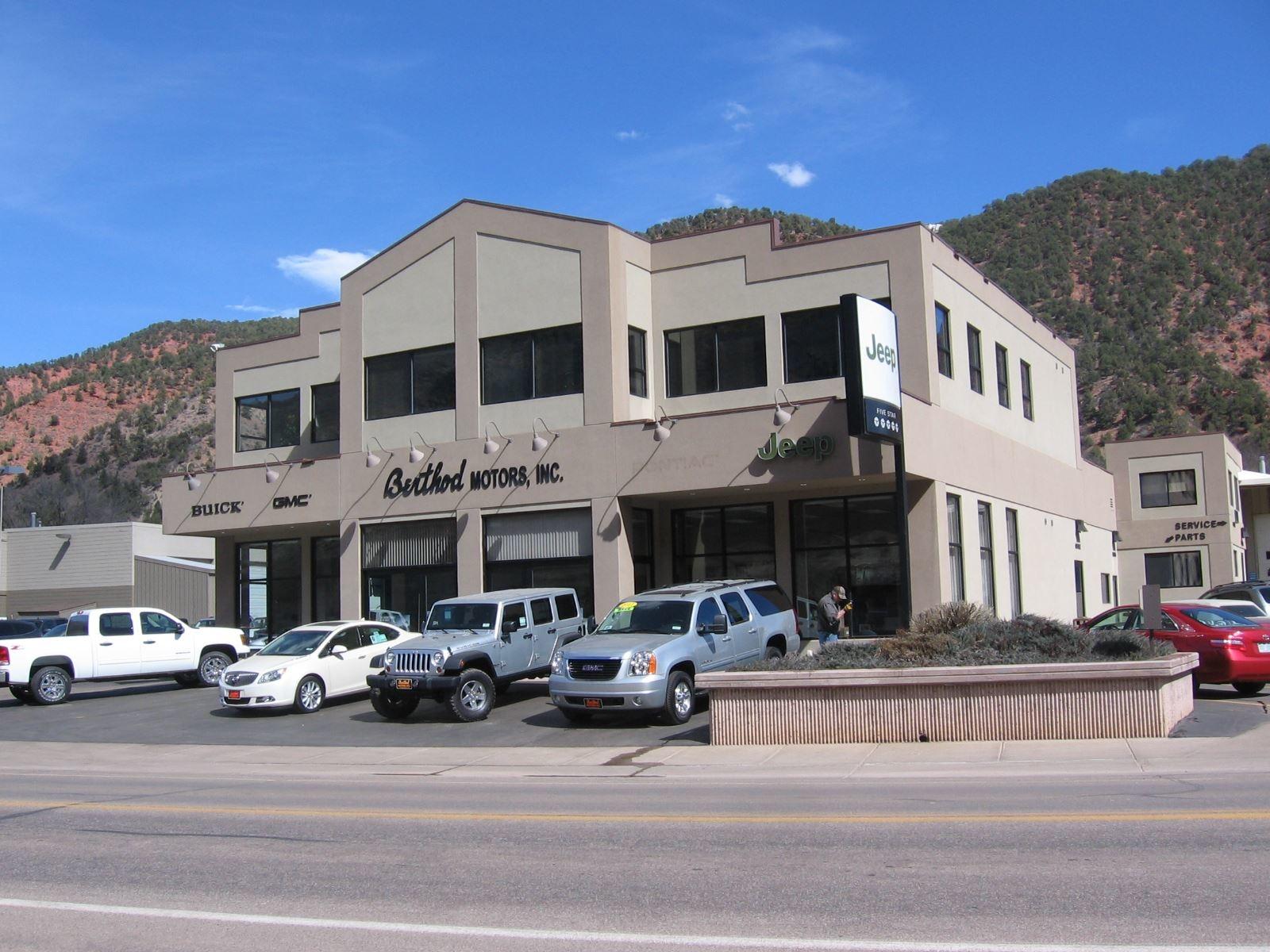 Berthod Motors Inc In Glenwood Springs Co 81601