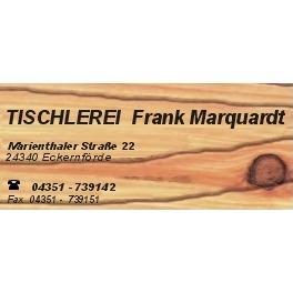 Bild zu Tischlerei Frank Marquardt in Eckernförde