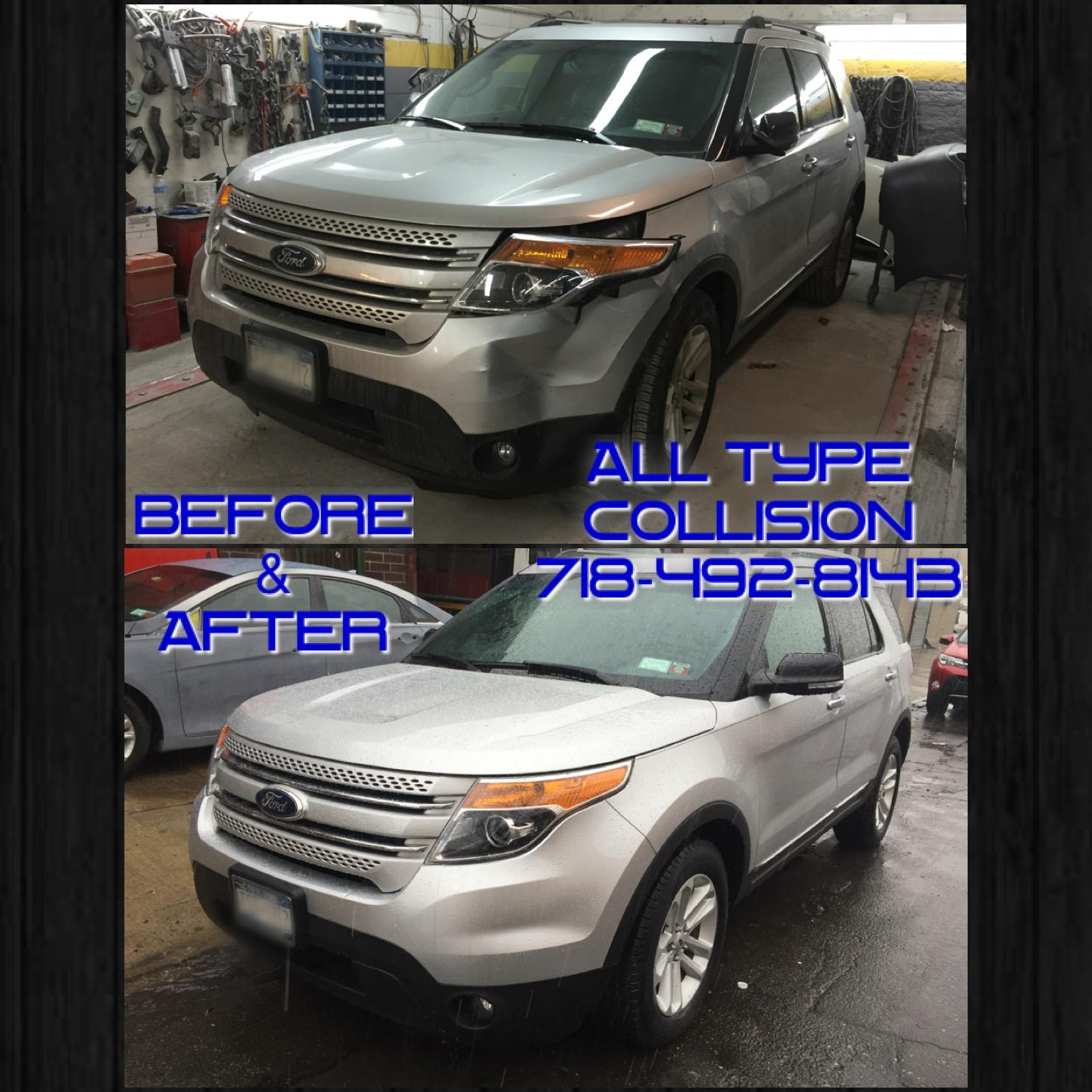 All type collision repairs inc in brooklyn ny 11220 for Motor vehicle in brooklyn