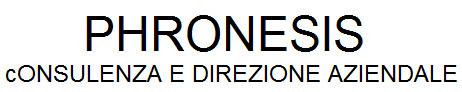 Phronesis - Consulenza e Direzione Aziendale