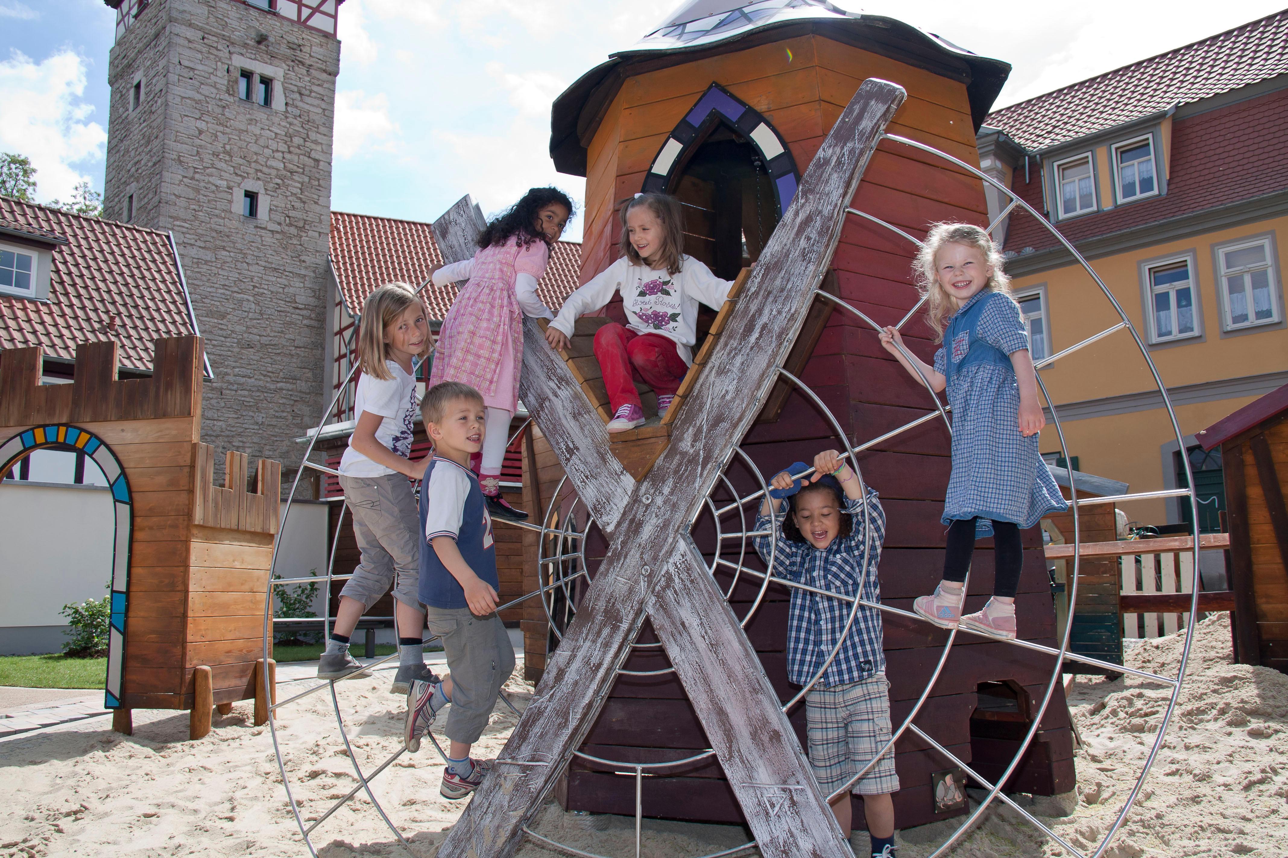 Bild der Kindererlebniswelt Rumpelburg