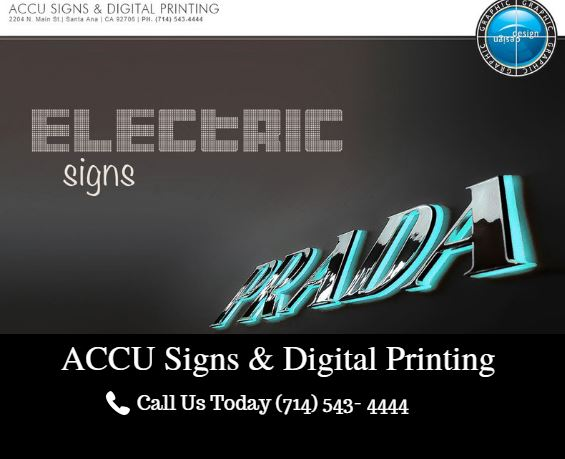 Accu Signs and Digital Printing
