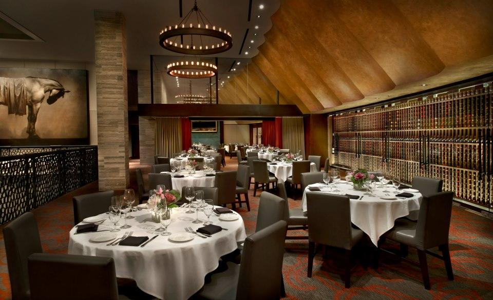 Del Frisco's Double Eagle Steakhouse Chicago Third Floor private dining room