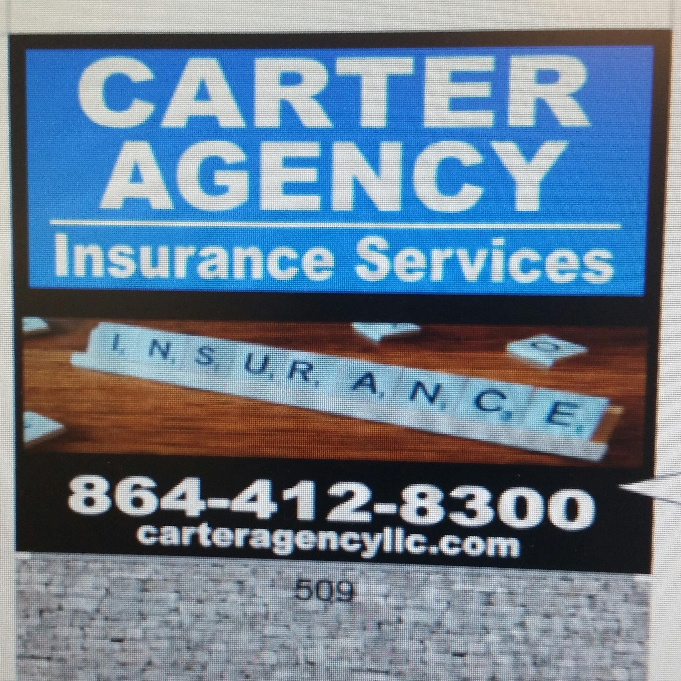 Life Insurance Agency in SC MAULDIN 29662 CARTER AGENCY INSURANCE SERVICES 509 N. MAIN STREET  (864)412-8300