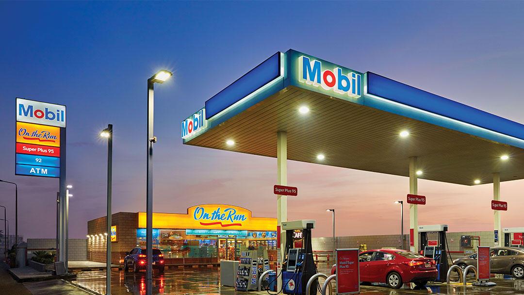 Mobil Gas Station - Derbala