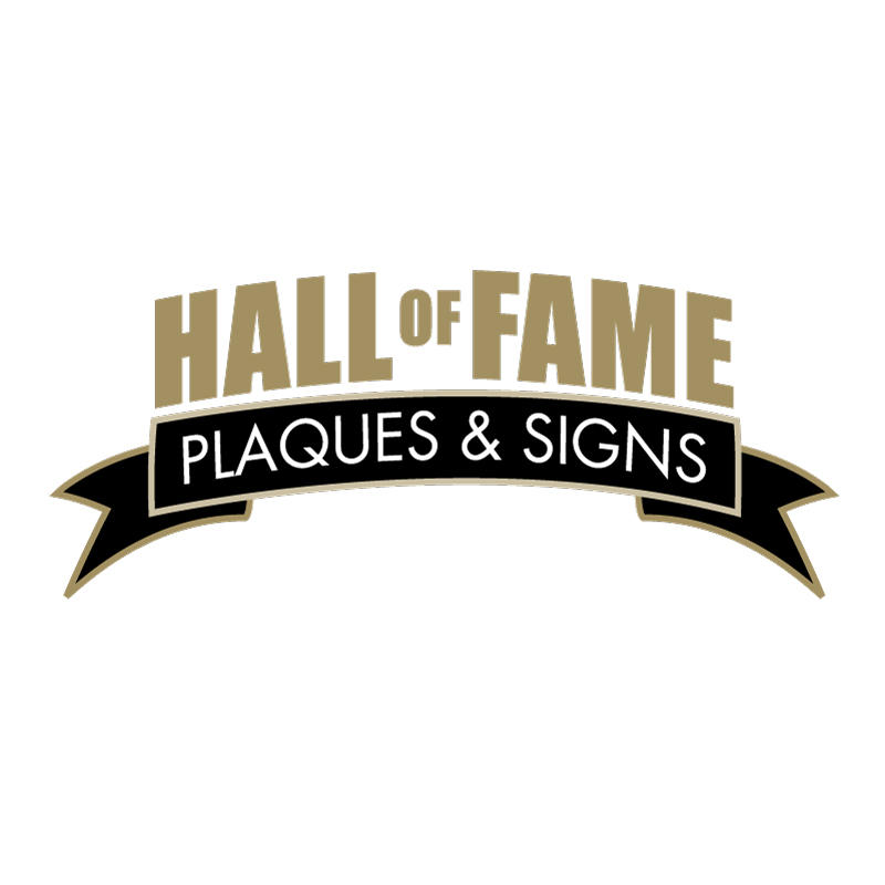 Hall of Fame Plaques & Signs