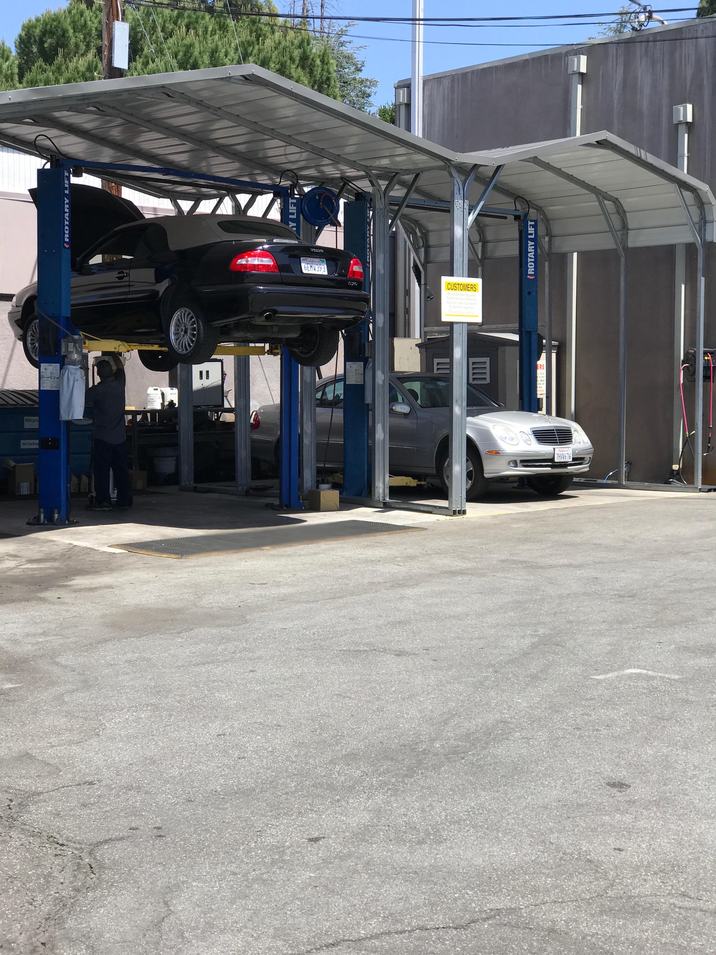 Ecar garage palo alto california ca for Garage europe auto center fresnes