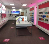 Interior photo of T-Mobile Store at Colby CT & River Rd, Bedford, NH