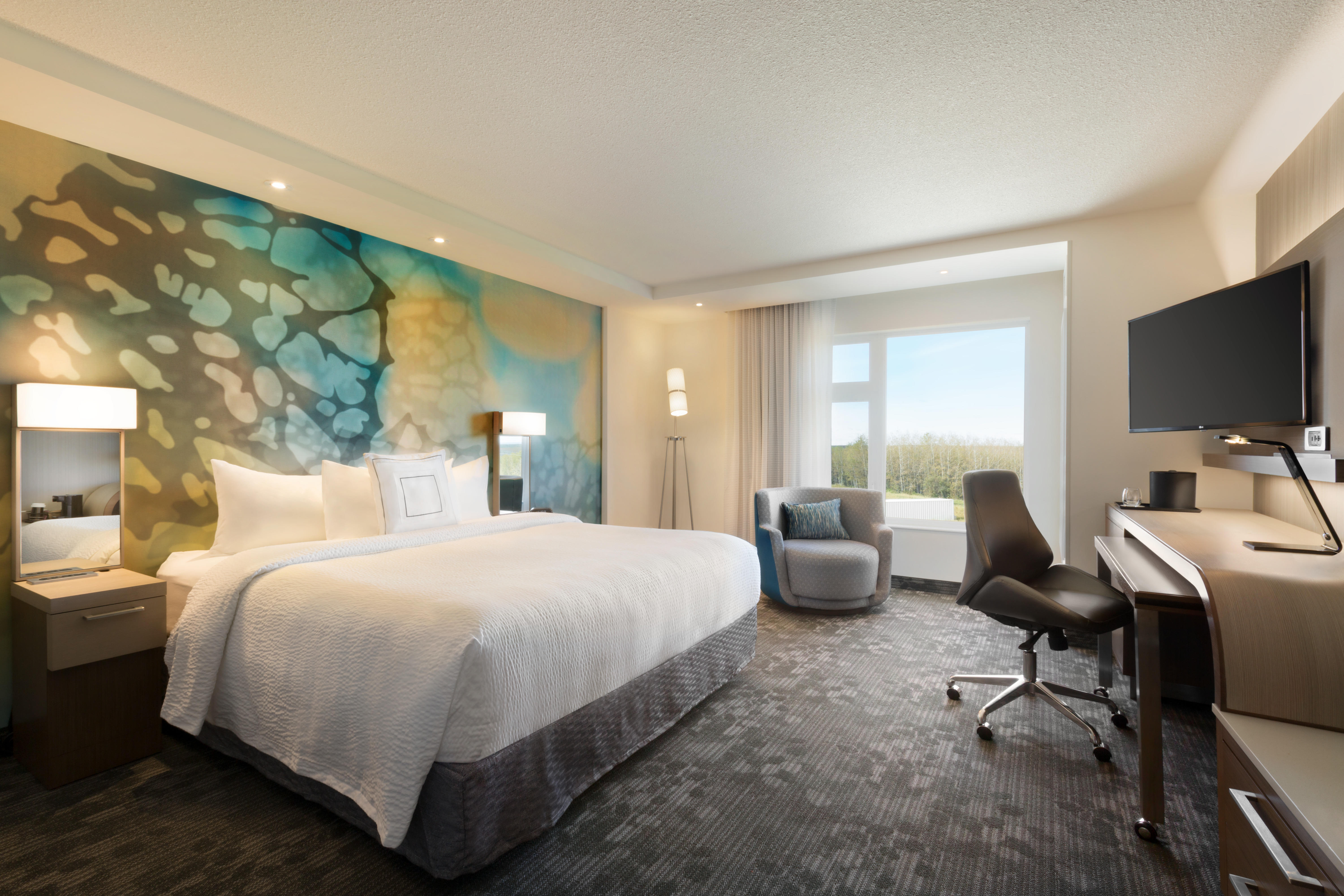 Accessible King Guest Room Courtyard by Marriott Cold Lake Cold Lake (780)594-0989