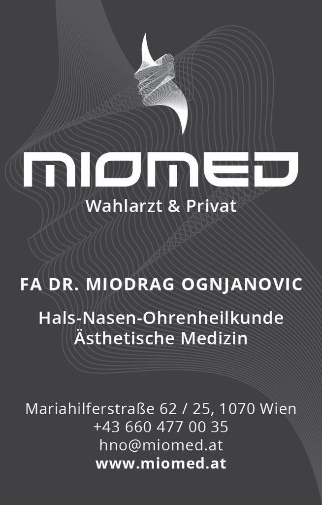 MIOMED Dr. Miodrag Ognjanovic